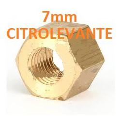 TUERCA ESCAPE  bronce 7mm