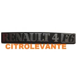 ANAGRAMA RENAULT 4 F 6