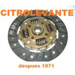 DISCO EMBRAGUE despues 1971