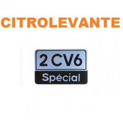 ADHESIVO 2CV6 SPECIAL