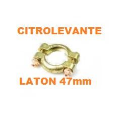 ABRAZADERA ESCAPE, LATON 47mm